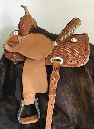 YOUTH Barrel Saddle 13""