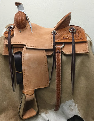 "15"" Square Skirt Association Ranch/Rope Saddle"