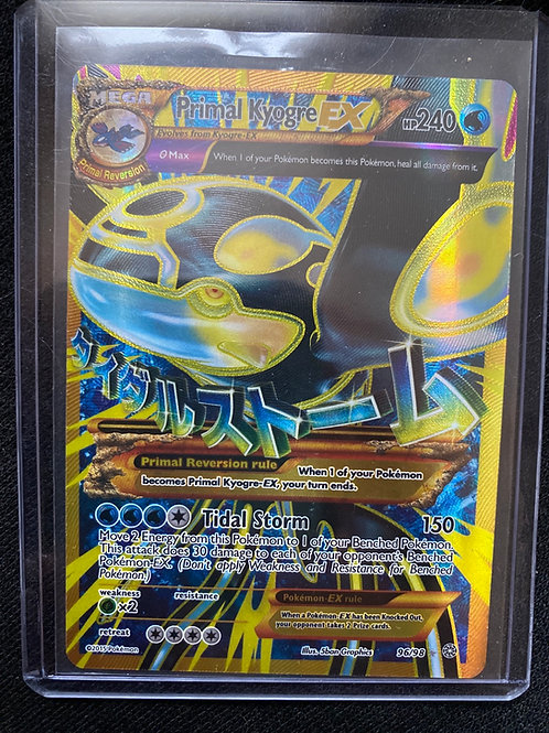 Primal Kyogre Ex (Full Art)