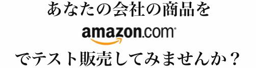 Amazon.com テストマーケティングサービス