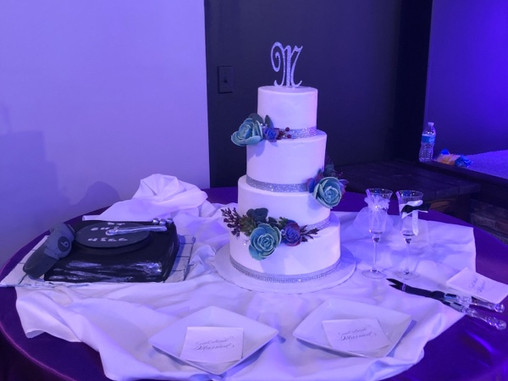 The cake that tackled
