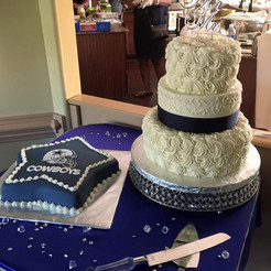 Popular style wedding cake!