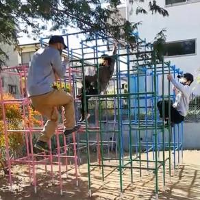 地域の子がたくさん利用する公園