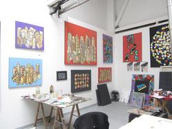 Allan's studio, Paris
