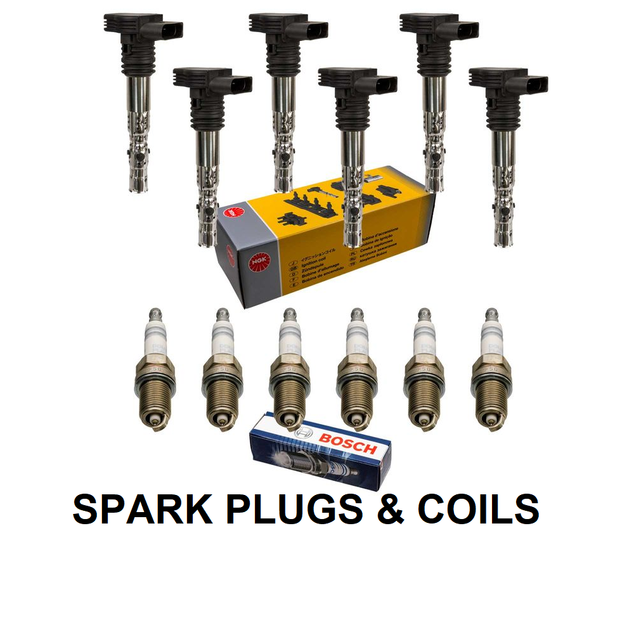 SPARK PLUGS AND COILS