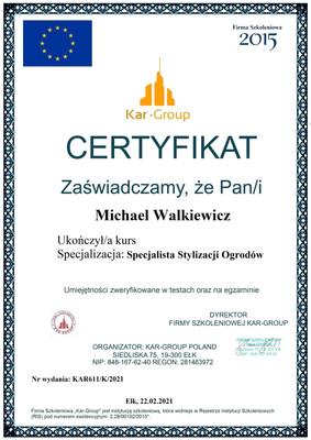 Michael Walkiewicz Specjalista Stylizacj