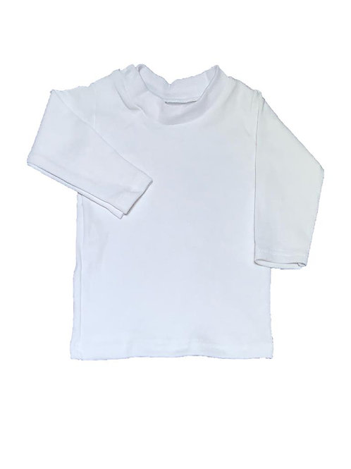 Camiseta 2 broches lisa Blanca