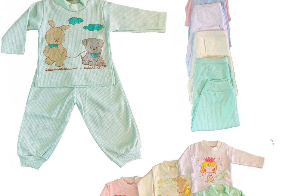 Pijama con estampa