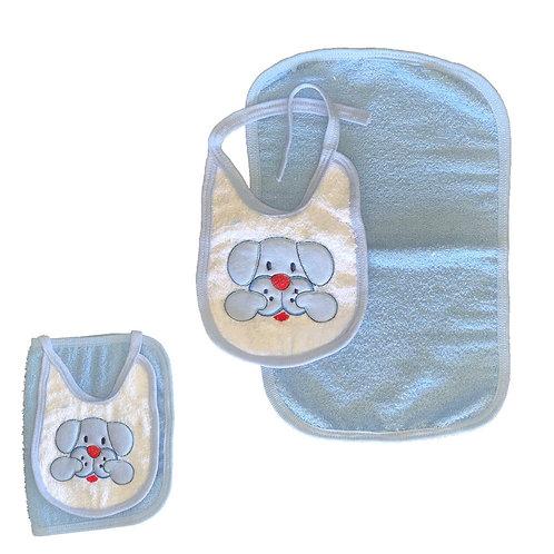 Set toallita de mano  + babero