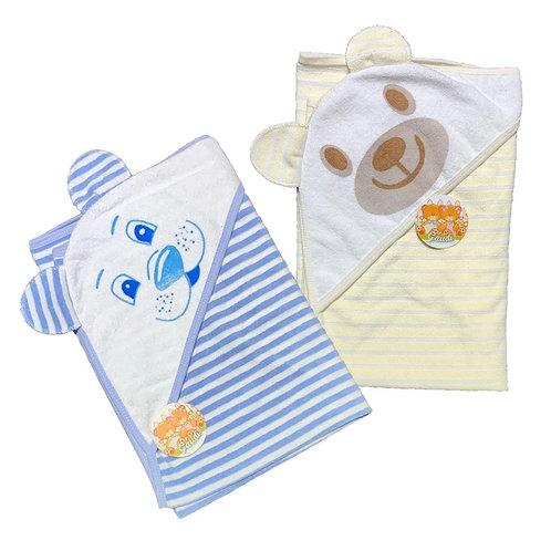 Capucha oreja Rayada (towel)