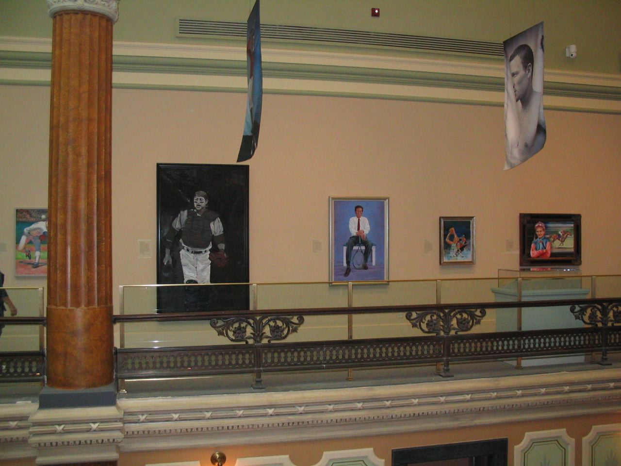 Hall of Champions National Portrait