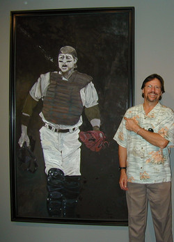 Fisk with His Portrait