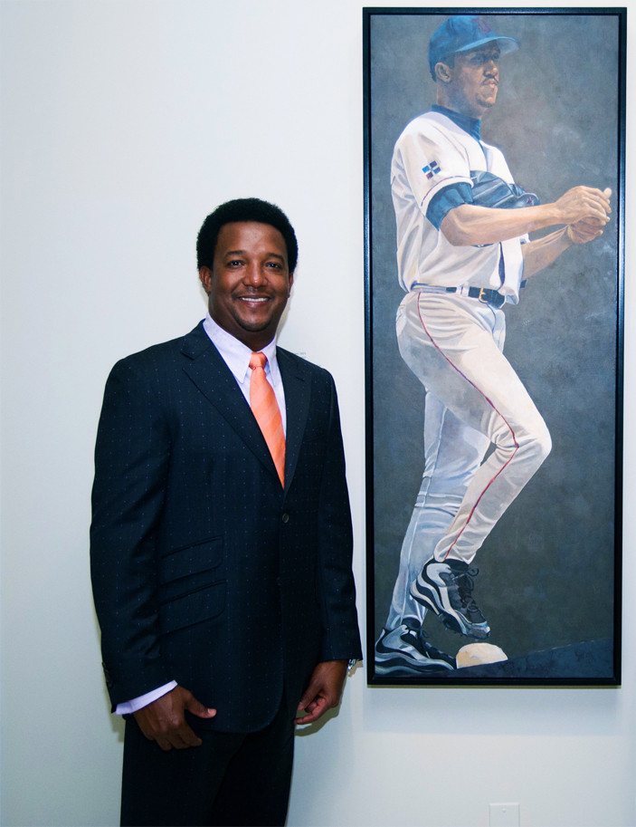 Pedro Martinez at NPG