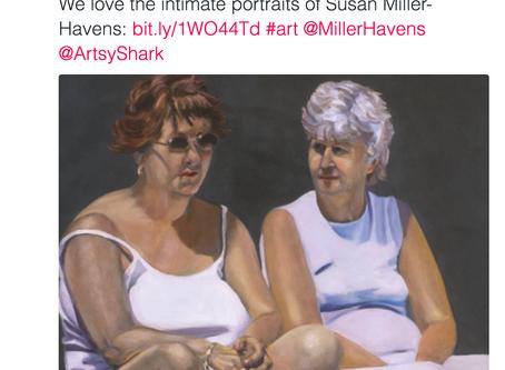 A Welcome Tweet to Miller-Havens Art