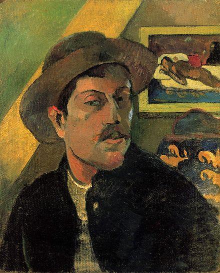 Gauguin self-portrait 1893