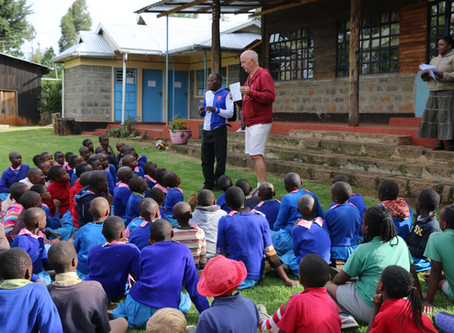Prizegiving Day at Turi Children's Project