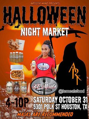 Halloween Night Market