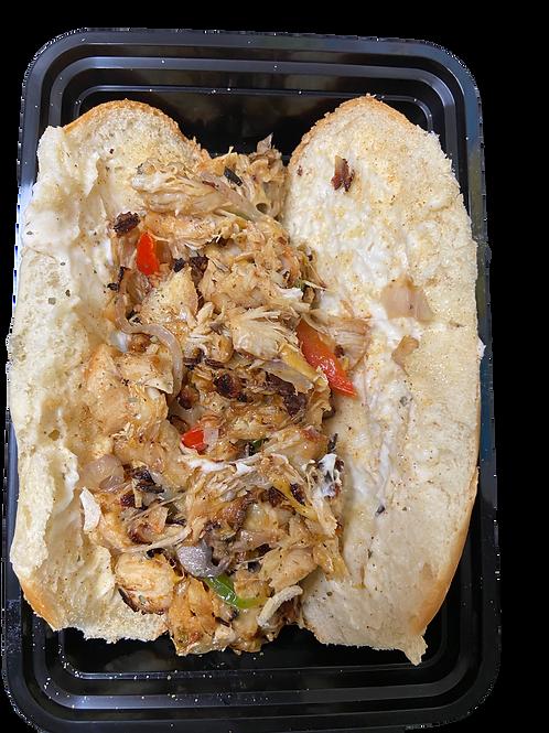 Geechee Chicken Cheesesteak