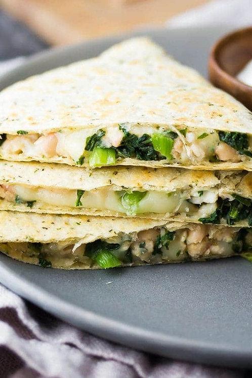 White Bean & Kale Quesadillas