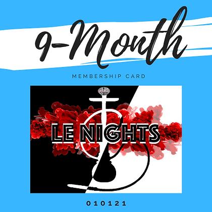 9 Month Membership