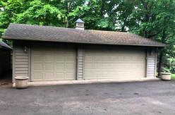 Detached Garage Door