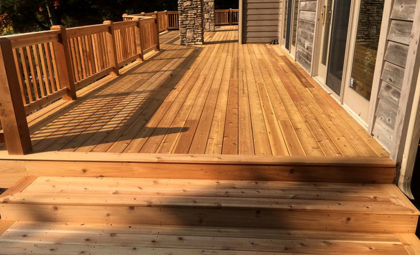 Wrap-Around Deck
