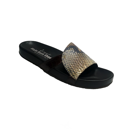 Palo Thong Sandals Right Bank Shoes Snake Print