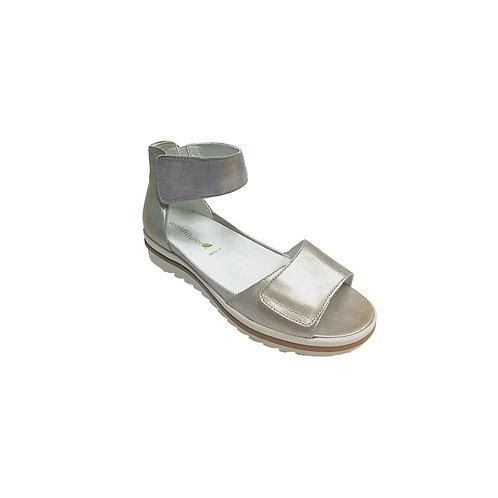 Wadlaufer Women's Sandals Marigold Metallic Ankle Sandal