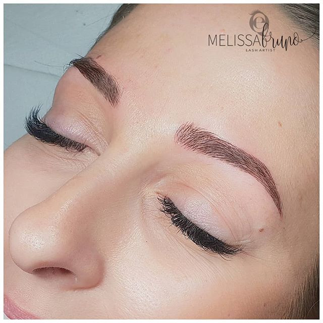 Bohemien brows 👩🏻‍🎨_We had this resul