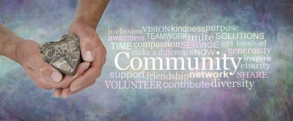 Care for your Community Word Cloud - ma