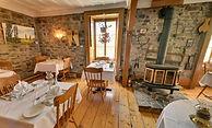 Auberge Restaurant Baker salle à manger.