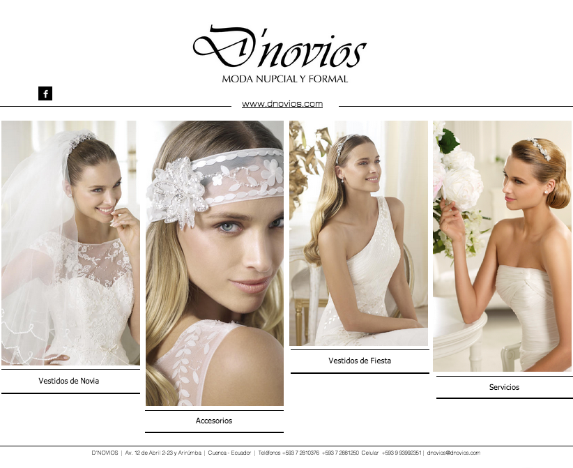 Alquiler vestidos de novia quito ecuador