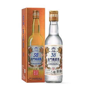 台湾金門高粮酒38°本体と瓶.jpg