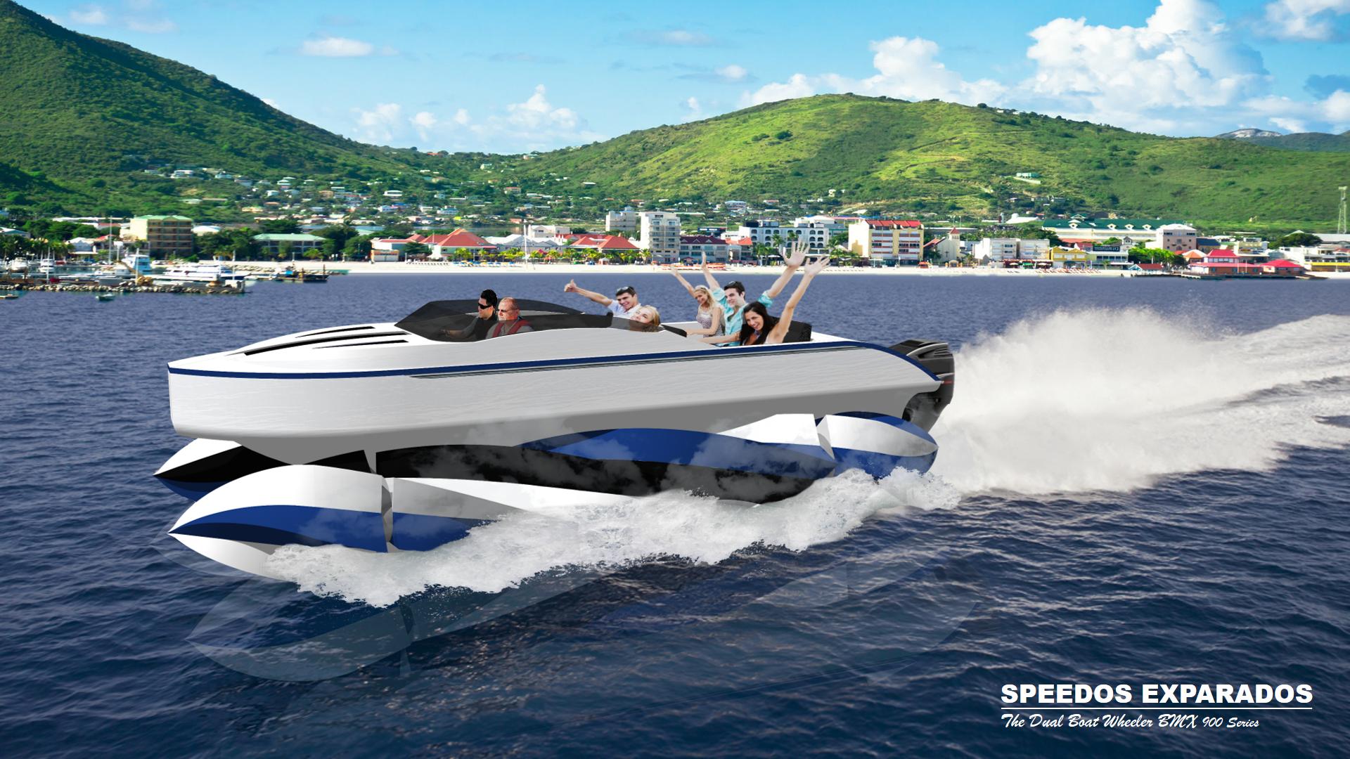 Speedos Exparados - The Dual Boat Wheeler BMX 900 Series