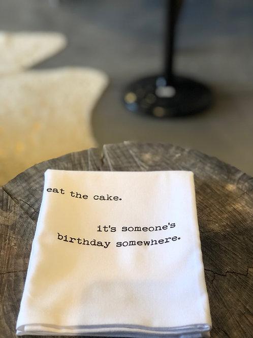 Cake Hand Towel