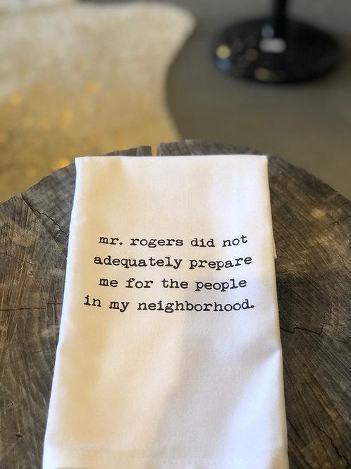 Mr. Rogers Hand Towel