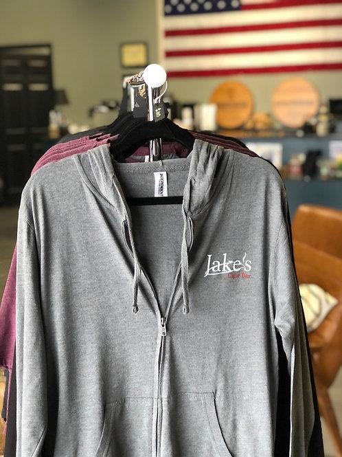 Grey Jake's Zip-Up Jacket