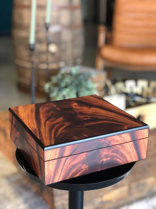 Medium Wooden Humidor