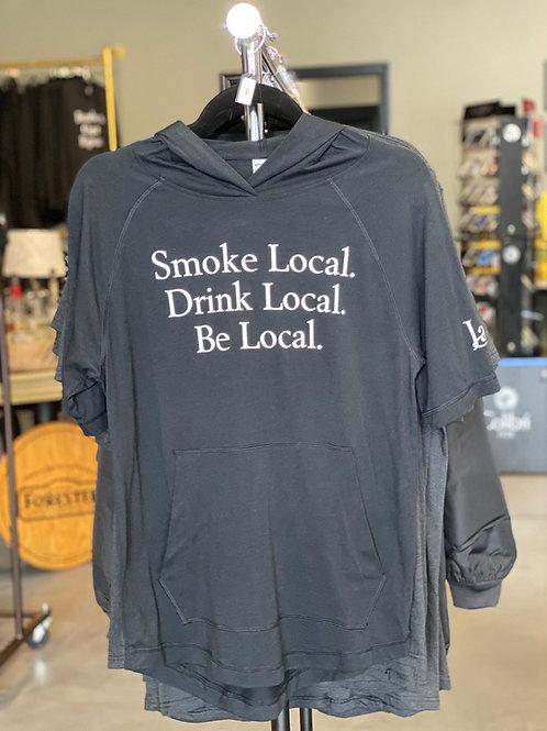 Be Local Short Sleeve Hoodie
