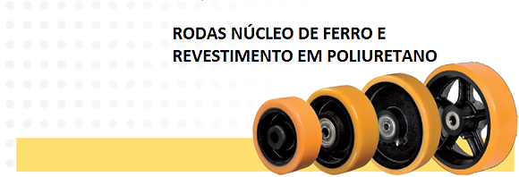"RODA 3"" POLIURETANO"