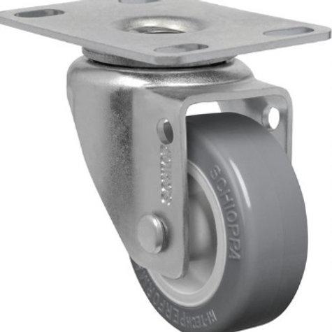 Rodízio Giratório 75 mm com freio