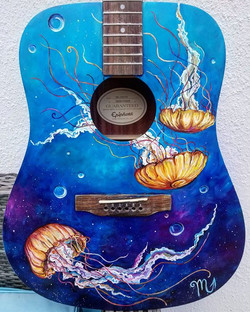 Guitar for Hoplife Brewery for their cha