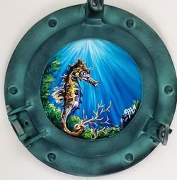 seahorse porthole