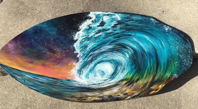 wave skim