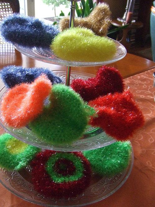 Tawashi - Eponge Gommage ou Vaisselle