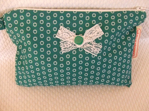 Trousse -maquillage- turquoise