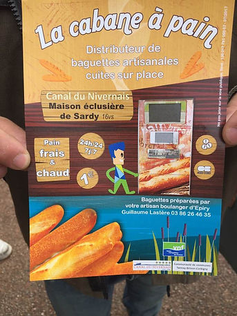Distributeur de baguettes de apin, distributeur de pain 24h/24