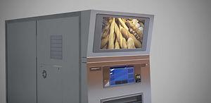 Distributeur de baguettes de pain, distributeur de pain 24h/24