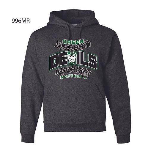 AF SOFTBALL JERZEES® - NuBlend® Pullover Hooded Sweatshirt