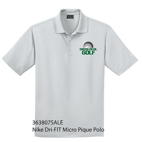 AF GOLF Nike Dri-FIT Micro Pique Polo